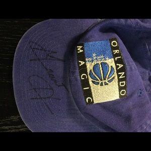 Grant Hill autographed Orlando Magic cap